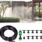 mainimage0Water-Misting-Cooling-System-Mist-Sprinkler-Nozzle-Outdoor-Garden-Patio-Greenhouse-Plants-Spray-Hose-Watering-Kit